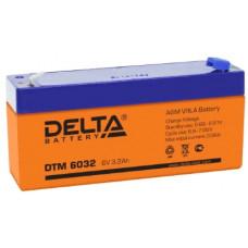 Аккумулятор DELTA DTM 6032