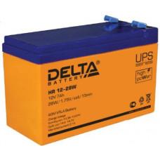 Аккумулятор DELTA HR 12-28 W
